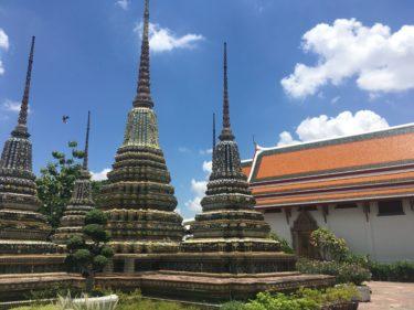 タイのバンコクで押さえておきたい三大寺院の一つ ワットポー