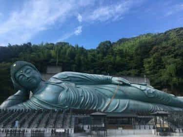 タイの涅槃像もビックリ!ブロンズ製では世界一大きい福岡県の涅槃像