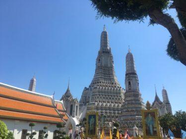 タイの三大寺院ワットポーと一緒にセットで行きたい ワットアルン