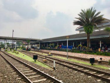 【列車でGo】インドネシアの首都ジャカルタからバンドンへ