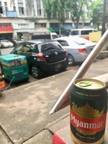 【インドネシア→ミャンマー】ヤンゴンのダウンタウンでの初日