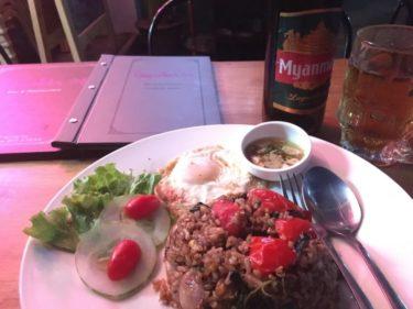 【オススメでき…】ゲストハウス & レストラン in ヤンゴン