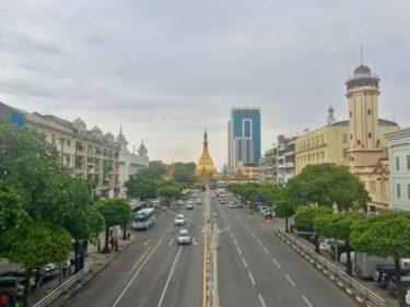 【ヤンゴン】ダウンタウンをお散歩しつつ、シャンヌードル999!
