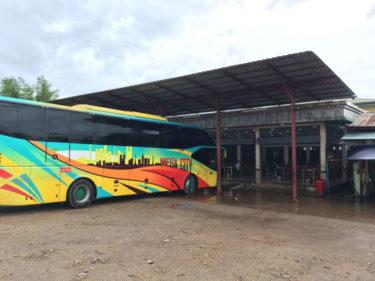 【ヤンゴン→パアン】バスに揺られて6時間…いくらかかる?